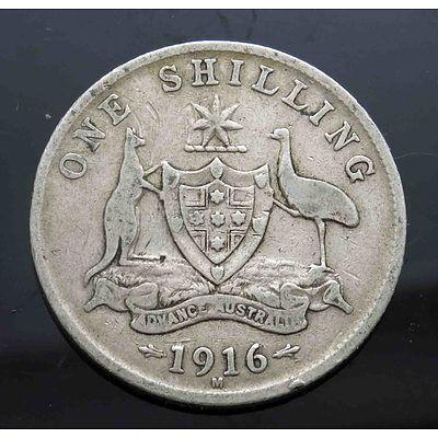 Australia: George V Shilling 1916