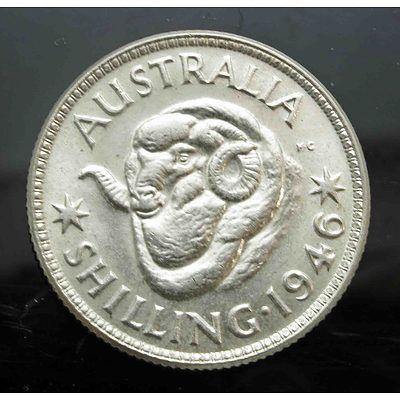 Australia: Shilling 1946 Melbourne Mint
