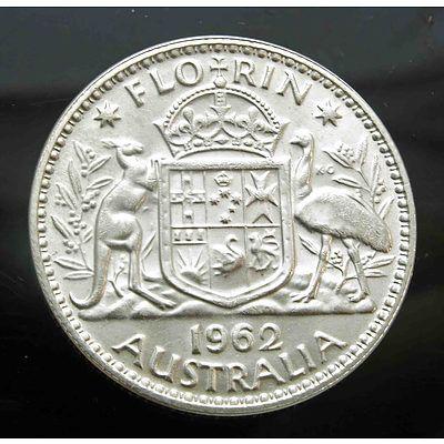 Australia: Silver Florin 1962
