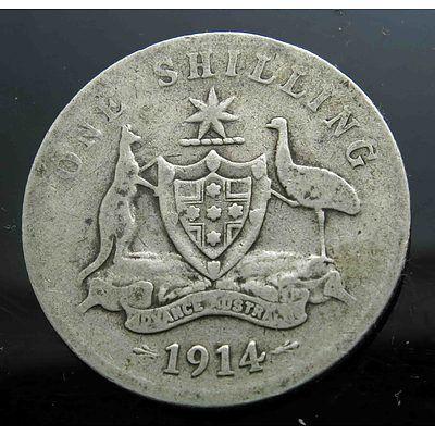 Australia: George V Shilling 1914