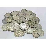 Australia: Silver Threepences 1940-1964