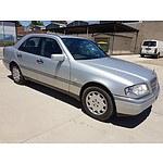 2/1997 Mercedes-Benz C230 Elegance  4d Sedan Silver 2.3L