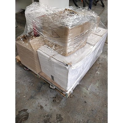 Bulk lot of assorted electrical equipment and cables