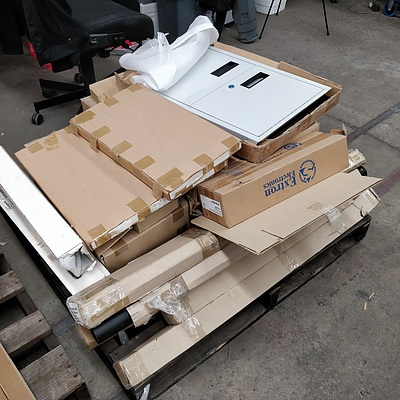 Pallet Lot Of Assorted Mounting Equipment