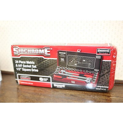 Sidchrome socket set XIII