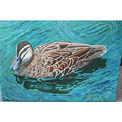 Painting - duck