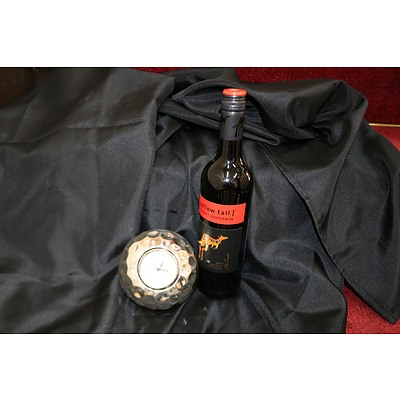 Pierre Cardin clock & red wine III