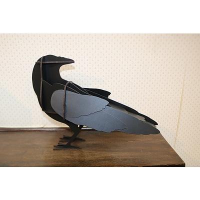 Contemporary bird ornament - small   III