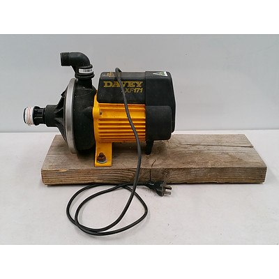 Electric Corded Davey XF171 Water Pump Made in Australia