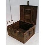 Vintage Military Steel Munition Box
