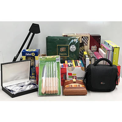 Lot of Books, Games & Mixed Household Items