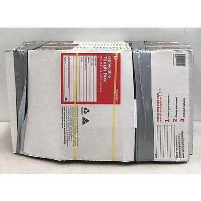 Lot of 80 Australia Post BX8 Expandable Tough Boxes