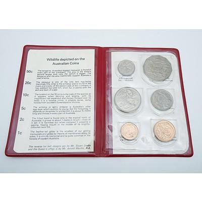 1978 Royal Australian Mint Six Coin Set - Wildlife