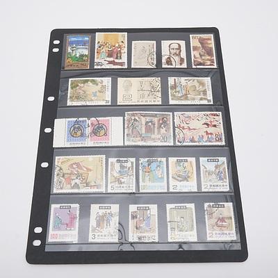 Various China Stamps Circa 1980's