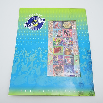 Australian Rock'n'Roll Stamp Pack - 'The Early Years'