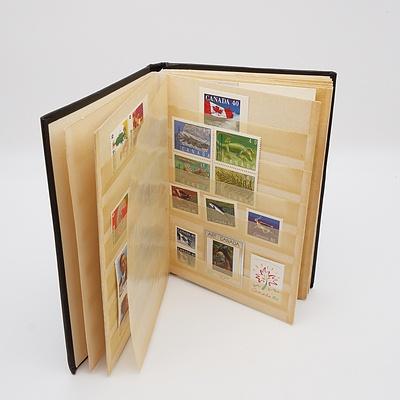 Canadian MUH Stamp Album