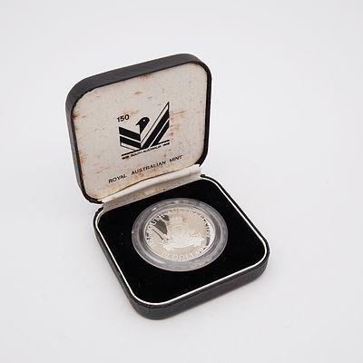 1986 Royal Australian Mint South Australian Ten Dollar Silver Proof Coin