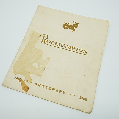 1856 - 1956 Centenary of Rockhampton Booklet