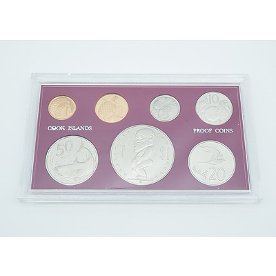 1972 Cook Islands Seven Coin Proof Set