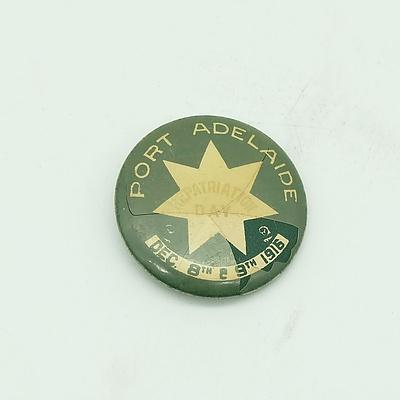 1916 Port Adelaide Repatriation Day Badge