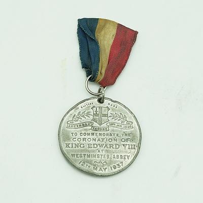1937 King Edward VIII Coronation Medal - Westminster Abbey