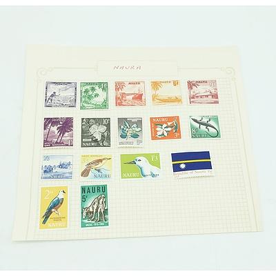Nauru Pre-decimal Stamps