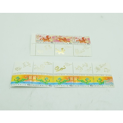 1998 & 2000 Christmas Island Stamps