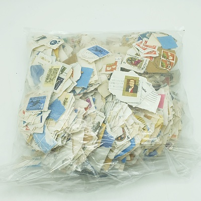 Huge Bag of Assorted Australian Stamps