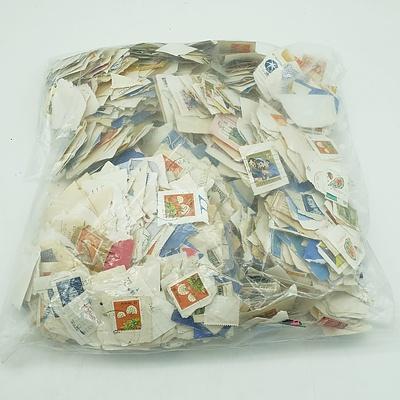 Huge Bag of Assorted Australian Stamps