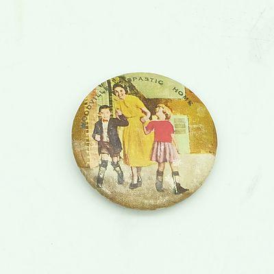 Circa 1910 Woodville SA Spastic Home Badge