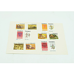 Set of 12  - Canada 8 Cent Stamps