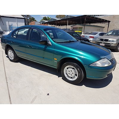 7/1999 Ford Falcon Futura AU 4d Sedan Green 4.0L