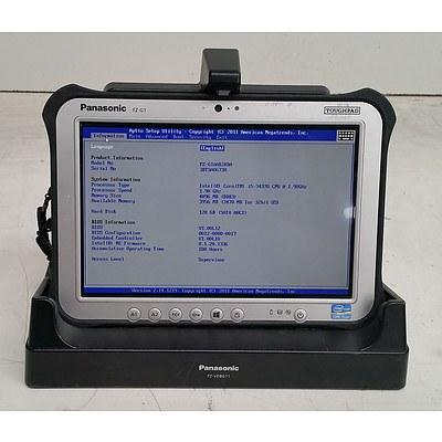 Panasonic (FZ-G1ASBJKBA) FZ-G1 ToughPad Core i5 (3437U) 1.90GHz 10.1-Inch Rugged Tablet
