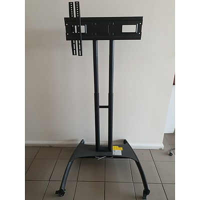 North Bayou AVA1500-60-1P Floor Stand TV Mobile Cart