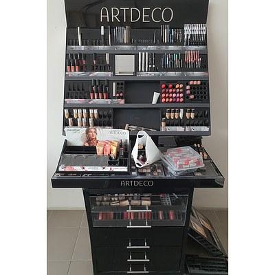 ARTDECO Cosmetics Display Stand With Retail & Tester Stock