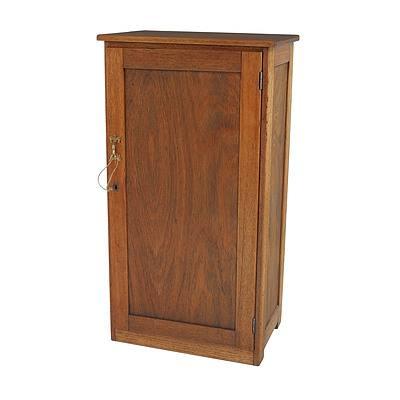 Small Australian Maple Cupboard, Early 20th Century