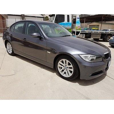 7/2005 BMW 320i Executive E90 4d Sedan Grey 2.0L