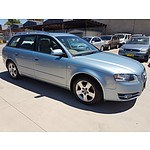 7/2006 Audi A4 4d Wagon Blue 2.0L