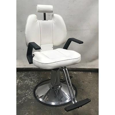 Hair Salon Chair White