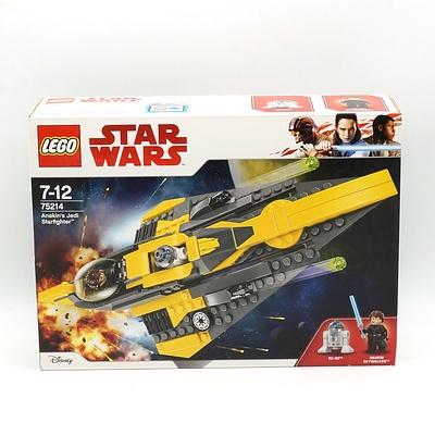Star Wars Lego 75214 Anakin's Jedi Starfighter, New