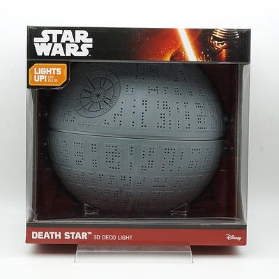 Star Wars Death Star 3D Deco Light, New