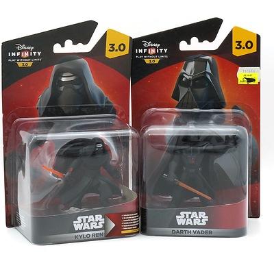 Disney Infinity Star Wars Darth Vader and Kylo Ren, New