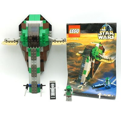 Star War Lego 7144 Slave 1