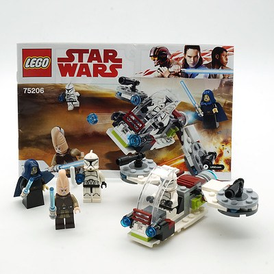 Star Wars Lego 75206 Jedi and Clone Troopers Battle Pack