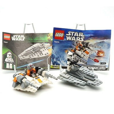 Star Wars Lego 75074 Micro Fighters Series 2 and Republic Assault Ship