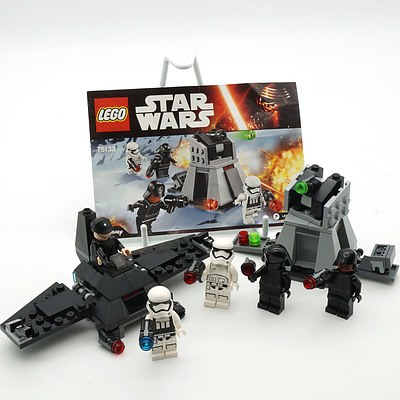 Star Wars Lego 75132 First Order Battle Pack and Another