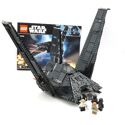 Star Wars Lego 75156 Krennic's Imperial Shuttle with Figures, Box and Manual