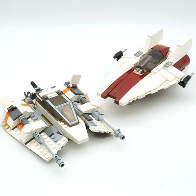 Two Star Wars Lego Ships, Including Snowspeeder
