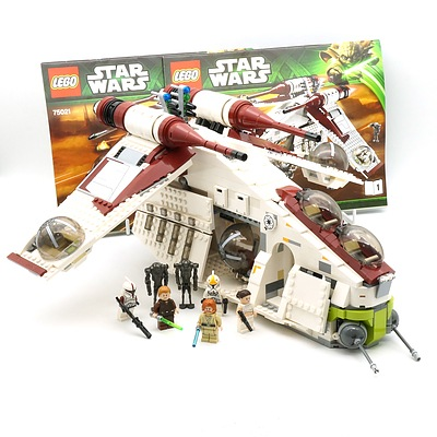 Star Wars Lego 75021 Republic Gunship