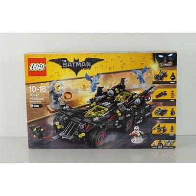 The Batman Movie Lego 70917 The Ultimate Batmobile, New